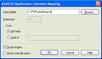 extension mapping